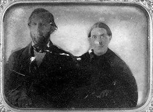Ambrotype of Whites by James A Cutting July 1854